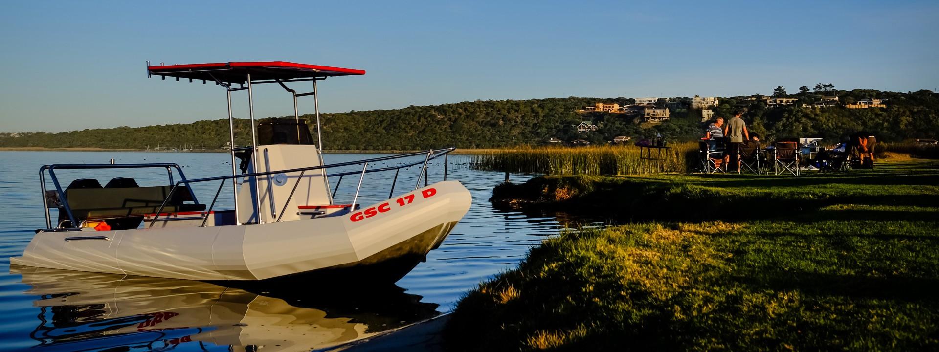 Aluminium leisure boat
