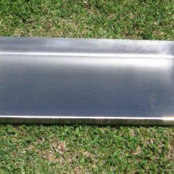 stainless steel braaipan