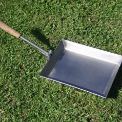 stainless steel folding braai pan