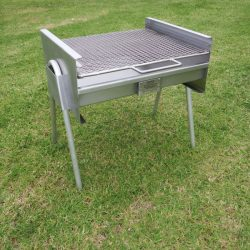 stainless steel portable charcoal braai